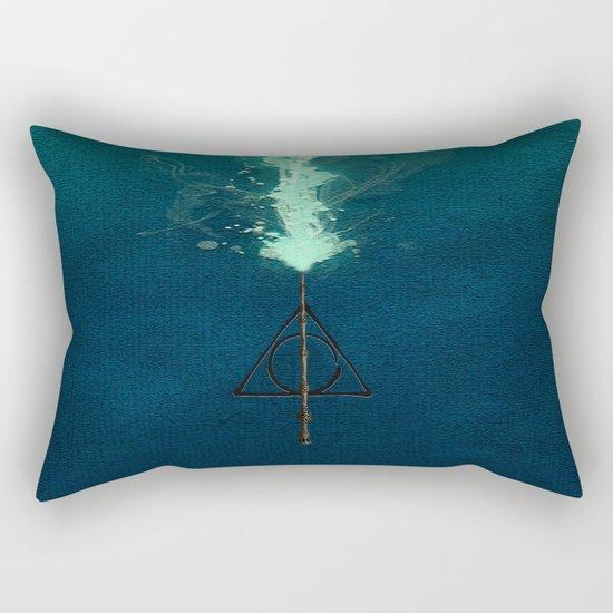 Harry Potter Deathly Hollows Expecto Patronum Rectangular Pillow
