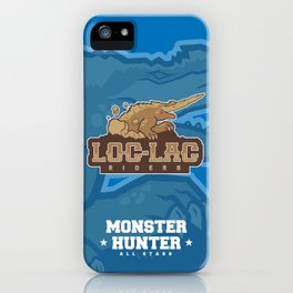 Monster Hunter All Stars - Loc-Lac Riders iPhone Case