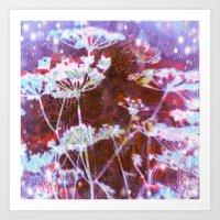 Cosmic Meadow Art Print