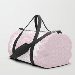 Boho Pink Mandala Duffle Bag