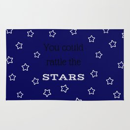 You Could Rattle the Stars Rug