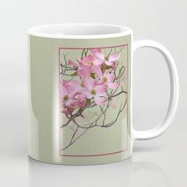 PINK FLOWERING DOGWOOD Coffee Mug