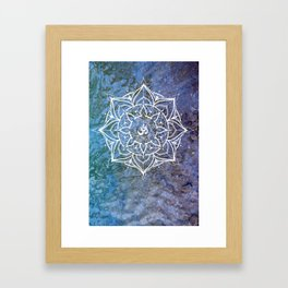 OM Framed Art Print