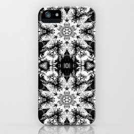 Rorschach Test Pattern iPhone Case