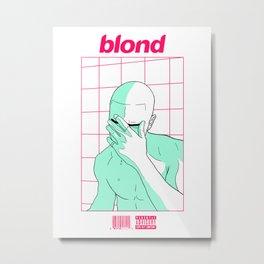Blonde Metal Print