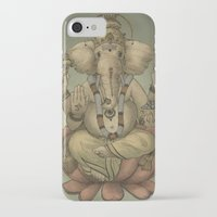 ganesha iPhone & iPod Cases featuring Ganesha by Sumi Senthi