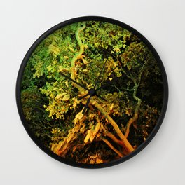 The Secret Haven of Tisiphone Wall Clock