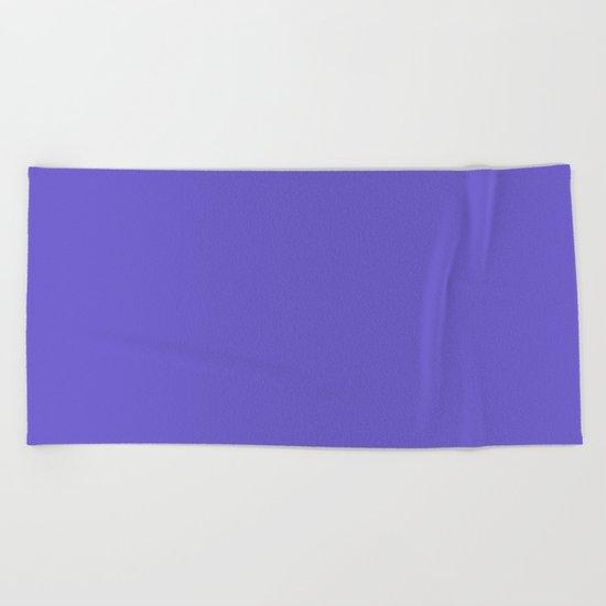 color slate blue Beach Towel