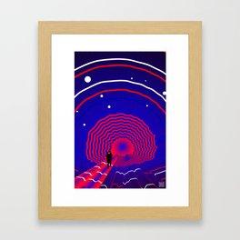 Keep making Framed Art Print