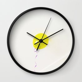 Birthday Balloon Wall Clock