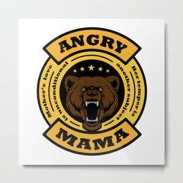 Angry mama Metal Print