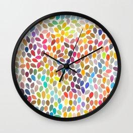 rain 17 Wall Clock