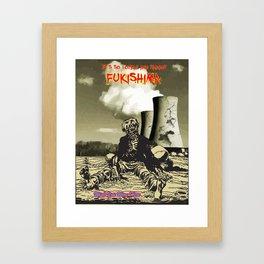 Travel Fukishima Framed Art Print