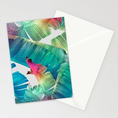 Banana Leaf Fantasy Stationery Cards