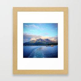 Escape from Cherry Island Framed Art Print