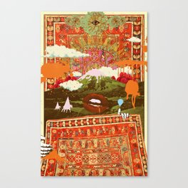 MORNING PSYCHEDELIA Canvas Print