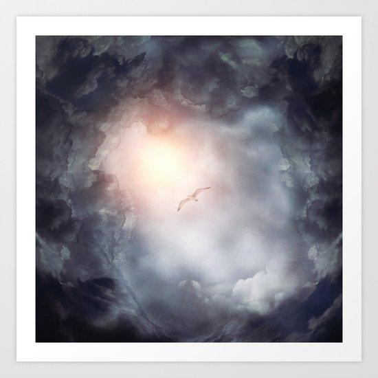 Magic in the Clouds VII Art Print