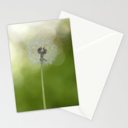 Dandelion in LOVE- Flower Floral Flowers Spring Stationery Cards