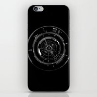 aperture iPhone & iPod Skins featuring Aperture by GiantEvilPizza