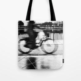 Pizza By Bike Tote Bag