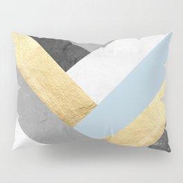 Golden bands VII Pillow Sham