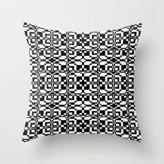 Black and White Tile 6/9/2013 Throw Pillow