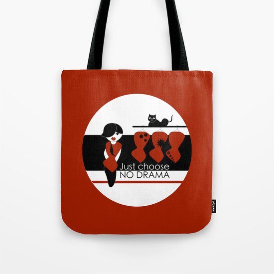 No Dramas! Tote Bag