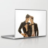 shingeki no kyojin Laptop & iPad Skins featuring sugar by JohannaTheMad