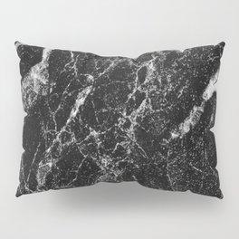 Black Marble 2 Pillow Sham
