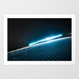 Bruneau Light Trails Art Print