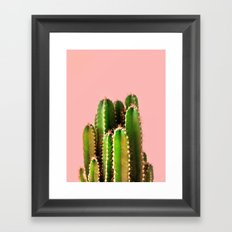 It's Cactus Time Framed Art Print