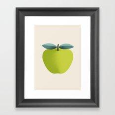Apple 31 Framed Art Print