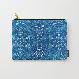 Crystal Blue Identity (Pattern Breaker Tiles Collection: 4-9-01) Carry-All Pouch