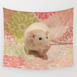Pipes the rat Wall Tapestry