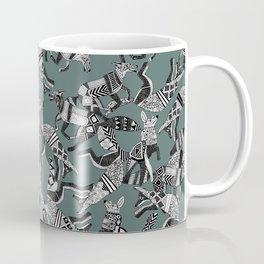 woodland fox party juniper Coffee Mug