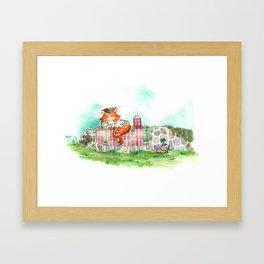 Lucky Burt  Framed Art Print