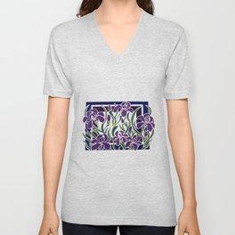Irises Unisex V-Neck