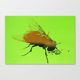 PSY FLY Canvas Print