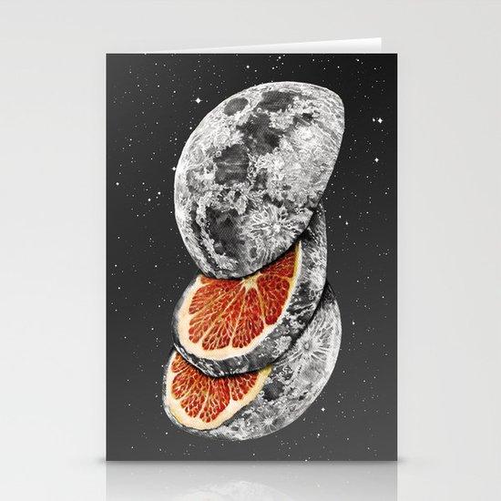 Lunar Fruit Stationery Cards