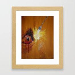 The Blind Truth Framed Art Print