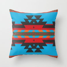 American Native Pattern No. 135 Throw Pillow