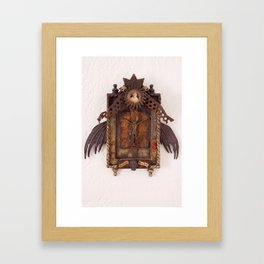 Gloria Mundi Shrine Framed Art Print
