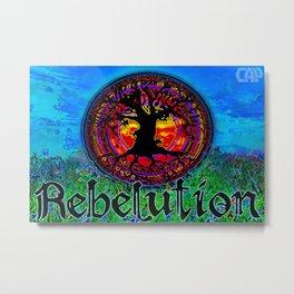 Rebelution Bright Side of Life Tree of Life #2 Blue Skies Metal Print