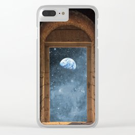 DOOR TO THE UNIVERSE Clear iPhone Case