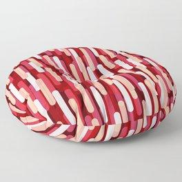 Fast Capsules Red Floor Pillow