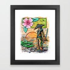 Days of Bushido Framed Art Print