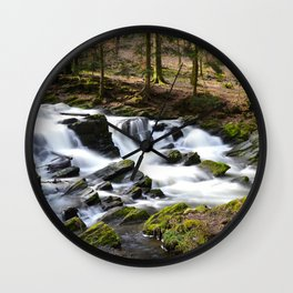 Trees and Water Wall Clock