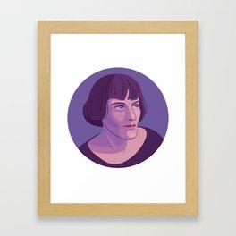 Queer Portrait - H.D. Framed Art Print