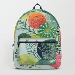 Succulent Circles Backpack