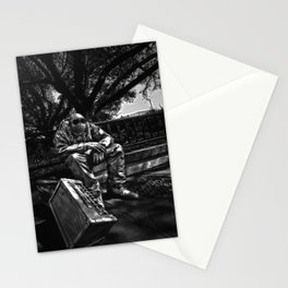 too Heavy Metal Stationery Cards